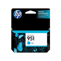 HP inktcartridge: 951 Cyan Officejet Ink Cartridge - Cyaan