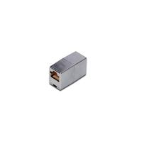 Digitus netwerk splitter: CAT 5e Modular Coupler - Zilver