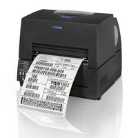 Citizen CL-S6621, 203dpi, ZPLII, Black Datamax, Dual-IF Labelprinter - Zwart