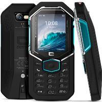 Crosscall Shark-X3 mobiele telefoon - Zwart