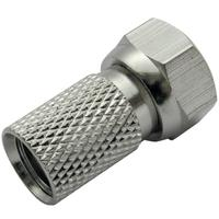 Schwaiger coaxconnector: FST8004 531 - Zilver