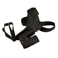 Intermec houder: Standard Belt Holster – with handle - Zwart