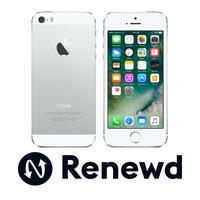 Renewd smartphone: Apple iPhone 5S - Zilver, Wit 64GB