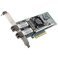 DELL Broadcom 57810 DP 10Gb DA/SFP+ Converged Network Adapter (laag profiel) - Kit netwerkkaart - Groen