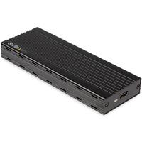 StarTech.com M.2 NVMe SSD voor PCIe SSDs USB 3.1 Gen 2 Type-C Behuizing - Zwart