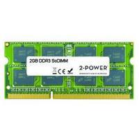 2-Power RAM-geheugen: 2GB MultiSpeed SoDIMM - Groen