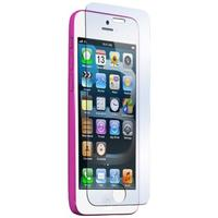 Muvit screen protector: 1 thin tempered glass screen protector for apple iphone 5c - Transparant