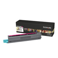 Lexmark cartridge: C925 7,5K magenta tonercartridge