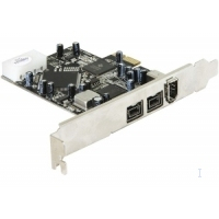 DeLOCK interfaceadapter: PCI Express card FireWire A / B