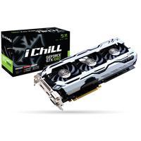 Inno3D videokaart: iChill GeForce GTX 1060 6GB X3 V2 - Zwart, Zilver