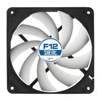 ARCTIC Hardware koeling: F12 Silent 3-Pin fan with standard case - Zwart, Wit