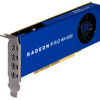 HP videokaart: AMD Radeon Pro WX 4100 4-GB grafische kaart PROMO - Blauw