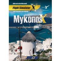 Mykonos X (fs X + Prepar3d Add-On) (dvd-Rom)