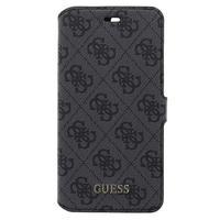 GUESS mobile phone case: 4G - Zwart, Grijs
