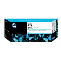 HP inktcartridge: 772 matzwarte DesignJet inktcartridge, 300 ml
