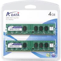 ADATA RAM-geheugen: 4GB Kit DDR2 800MHz CL6