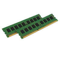 Kingston Technology RAM-geheugen: System Specific Memory 16GB 1600MHz - Zwart, Groen