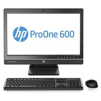 HP all-in-one pc: ProOne 600 G1 - Zwart, Zilver