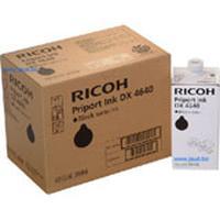 Ricoh inktcartridge: DX4640 Ink Black cartridge - Zwart