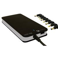 Amarina netvoeding: Universal Power Supply for Notebook, 90W, 100 - 240V, USB Interface - Zwart
