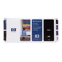 HP printkop: 83 zwarte DesignJet UV-printkop en printkopreiniger
