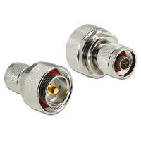 DeLOCK kabel adapter: Adapter N Jack > 7/16 Jack - Geelkoper