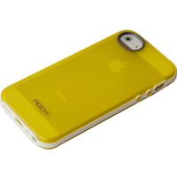 ROCK mobile phone case: Joyful Free Cover Apple iPhone 5/5S Yellow - Geel
