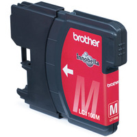 Brother inktcartridge: LC-1100M Blister Pack - Magenta