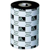 Zebra 3200 Wax/Resin Ribbon Printerlint - Zwart, Wit