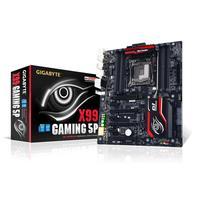 Gigabyte moederbord: LGA2011-3, Intel X99 Express, DDR4 DIMM x 8, non-ECC, PCI Express x16 x 4, PCI Express x1 x 3, .....