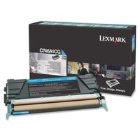 Lexmark cartridge: C746, C748 7K cyaan retourprogr tonercartr