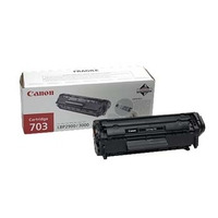 Canon cartridge: Toner CRG703 Black - Zwart