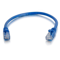 C2G 2 m Cat6 Booted Unshielded (UTP) netwerkpatchkabel - blauw Netwerkkabel