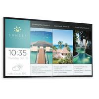 Sony public display: FW-43X8370C - Zwart