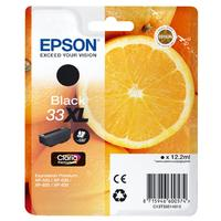 Epson inktcartridge: Ink Cartridge, 12.2 ml, Black - Zwart