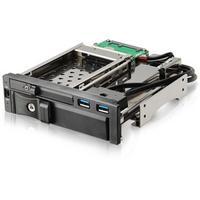 """Enermax drive bay: Multifunctional Mobile Rack, f / 1 x 3.5"""" & 1 x 2.5"""" SATA I/II/III HDD & SAS HDD, 2 x USB 3.0 - ....."""