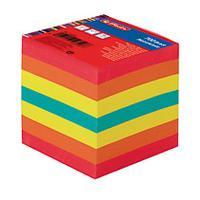 Herlitz zelfklevend notitiepapier: Note cube Big9 700 sheets 9x9x9cm - Multi kleuren