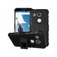 MicroMobile mobile phone case: Anti-Slip Hybrid Case - Zwart
