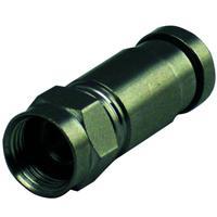 Schwaiger coaxconnector: FVS7004 531 - Zilver