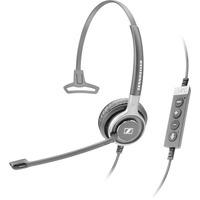 Sennheiser headset: SC 630 USB CTRL - Zwart, Zilver