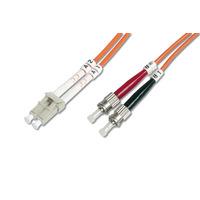 Digitus fiber optic kabel: LC/ST, 10 m - Multi kleuren