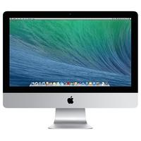 """Apple iMac 21.5"""" met 1.4GHz dual core i5-processor - QWERTY all-in-one pc - Zilver"""