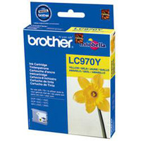 Brother inktcartridge: LC-970YBP Blister Pack - Geel