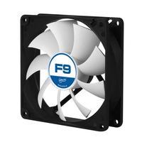 ARCTIC Hardware koeling: F9 - Zwart, Wit