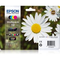 Epson inktcartridge: Claria Home Ink-reeks - Zwart, Cyaan, Magenta, Geel