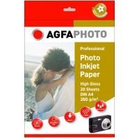 AgfaPhoto Super Foto High Glossy Papier - A4 /260g / 20 vellen