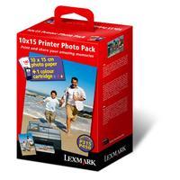 Lexmark fotopapier: Printer Photo Pack (nr.35+140v 10x15 fotopap.)