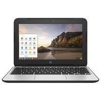HP laptop: Chromebook 11 G4 - Zwart, Zilver
