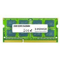 2-Power RAM-geheugen: 2GB DDR3 DR SoDIMM - Groen