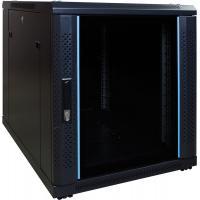 DS-IT 12U mini serverkast met glazen deur 600x800x635mm (BxDxH) Stellingen/racks